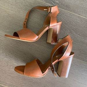 Dune London High Heeled Leather Sandals